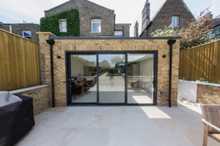 Basement extension