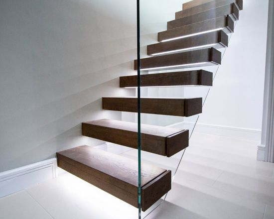 Luxury Floating Staircases